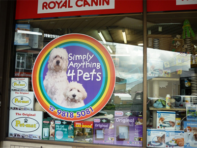 Anything4pets window